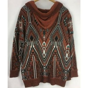 Ecote Urban Outfitters Cardigan Sweater Brown M